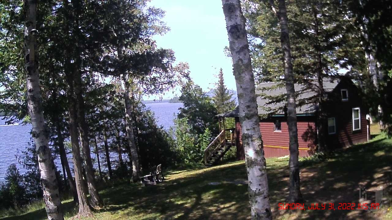 Lyon's Lakeside Cabins Webcam